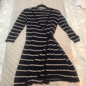 Adorable Striped Calvin Klein Dress